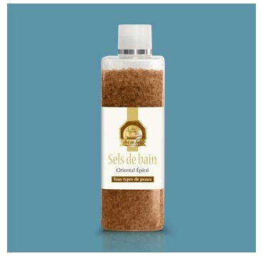 Sais de banho 26 minerais, perfumados - Oriental Spicy