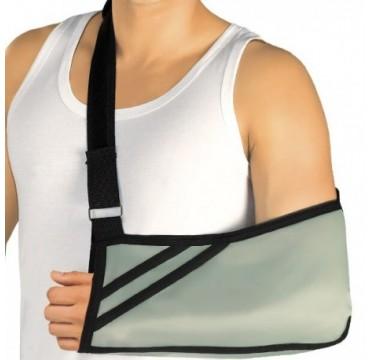 Braço, apoio. Suporte ortopédico medicinal